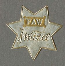 "Siegelmarke ""FAW / J Witzel"""