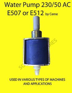 Water pump (Oscillating) 230/50 VOLT by CEME E512 industrial cleaners etc