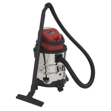 More details for pc20sd20v sealey vacuum cleaner cordless wet & dry 20ltr 20v - body only