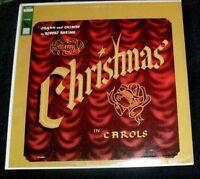 Merry Christmas Carols Robert Rheims LP Album - Vinyl Liberty Records