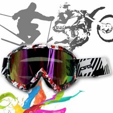 GOGGLES Snow Snowmobile Snowboard SKI UV Protect Adult Windproof Graffiti Frame