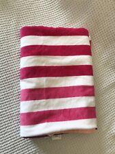 Sun Squad Stripe Ombre Beach Towel Pink Purple White