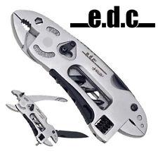 e.d.c. Civic Gear Mini Zange +Etui Taschenmesser Engländer Franzose Tool 3 Bit