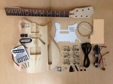 E-i38DIY No-Soldering, 3/4 Size Short Scale TE Style Electric Guitar DIY Kits