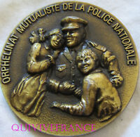 MED6296 -  MEDAILLE ORPHELINAT MUTUALISTE DE LA POLICE NATIONALE