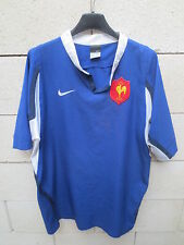 Maillot rugby QUINZE de FRANCE NIKE shirt manches courtes col rond M