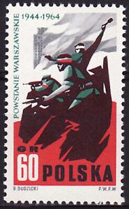 Poland 1964 - 20th anniversary of Warsaw Uprising - Fi 1365 MNH**