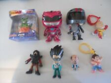 funko pop. dragon z and other small toy lot.used