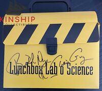Bill Nye signed Lunchbox JSA COA Inscribed The Science Guy Rare Z532