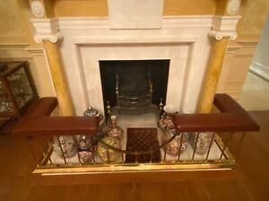 Antique Brass Fire Surround