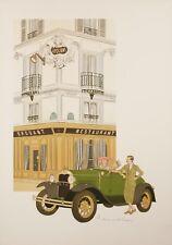 Original Vintage Poster - Noyer Denis-Paul - Drouant - Restaurant - Paris - 1979