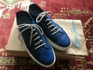 OLIVER SWEENEY UPSCALE CASUAL MEN'S BARROSA Blue SNEAKERS sz. 10.5 D/M