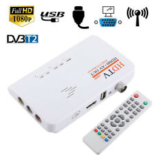 HD 1080p TV Tuner DVB T2 For Monitor Adapter USB Tuner Receiver TV Box Tuner