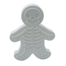 Christmas Gingerbread Man Cookie Cutter and Stamper Skeleton Baking Mould Tool Z
