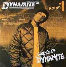 "DYNAMITE MC - World Of Dynamite (Room 1) EP (12"") (G++/VG)"