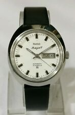 HMT RAJAT 21 JEWELS VINTAGE AUTOMATIC WATCH~WHITE DIAL