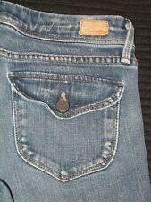 Paige Premium Jeans Pico Low Rise Bootcut Flap Pocs Sz 25 P