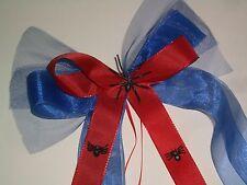 Wunderschöne Schleife Spiderman Spinne Schultüte Zuckertüte Geschenk Band Tüll