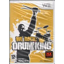 We Rock: Drum King Videogioco WII Nuovo Sigillato 8023171016597
