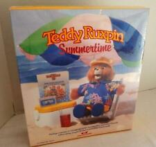 New in Box Teddy Ruxpin Summertime - Cassette - Songbook - Beach Outfit - 1987