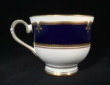 Beautiful Navy & White Royal Worcester DIPLOMAT Footed Tea Cup- FREE SHIPPING!!!