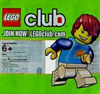 LEGO CLUB #852996 - Max - Rare & Collector Minifigure - 100% NEUF / NEW