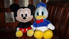 Mickey Mouse & Donald Duck Stuffed Toys bundle