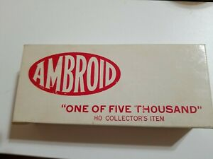 Vintage, AMBROID HO Collector's Item, No. 9, 1 of 5000, CB & Q Dynamometer Car