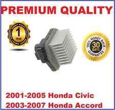 Blower Motor Heater Fan Resistor fits Honda Civic 01-05 Accord 03-07 79330SDGW41