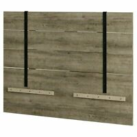Headboard Full Queen Size Wood Weathered Farmhouse Rustic Shabby Chic Furniture