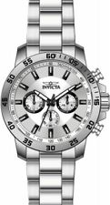 Invicta Men's 21501 Specialty Analog Display Swiss Quartz Silver-Tone Watch