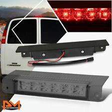 For 03-17 Chevy Express/GMC Savana LED Third 3RD Tail Brake Light/Lamp Smoked