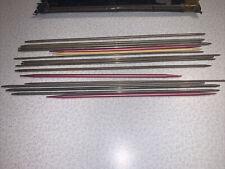 Vintage Knitting Needles Lot Of 17 Mix Of Steel Aluminum Etc