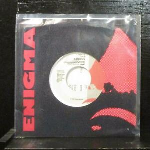 "Bardeux – I Love To Bass Mint- 7"" Vinyl 45 w Insert Enigma 7 75047-7 House 1989"