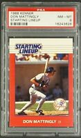 1988 Kenner Starting Line Up SLU Don Mattingly PSA 8 NM-MT