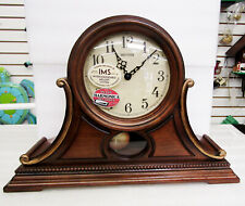 "NEW RHYTHM MANTEL CLOCK: ""LANCASTER""  CRJ757UR06  -CASSETTES WITH MELODIES"