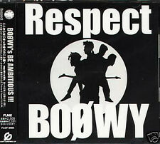 BOOWY RESPECT - Japan CD - NEW SUGAR LUNCH Vogus Image Sign