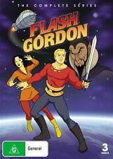 Flash Gordon (DVD, 2009, 4-Disc Set) - Region 4