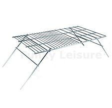 Large Folding Camping Fire Grill for Camp Fire Cooking & Barbeques