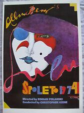 Richard Lindner ~SPOLETO 1974~ Mini Poster