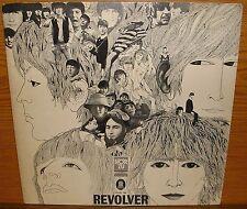 LP the Beatles revolver écoute Odeon Label Bleu