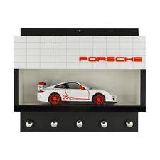 Porsche Dealership Wall Key Hook Rack - Exclusive Item - Handcrafted Key Holder