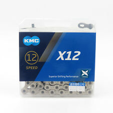 KMC X12 12 speed 126L MTB Mountain Bike Bicycle Chain for SRAM - Silver