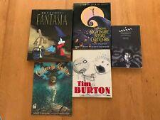 TIM BURTON & DISNEY 5 BOOK COLLECTION: Nightmare, MOMA, Burton/Burton+GREAT COND