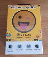 Urbanz Cheeky Face Emoji Wireless Speaker