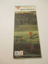 Vintage 1968 CONOCO New Mexico Gas Service Station Road Map
