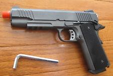 Full Metal CO2 Blowback 1911 Airsoft Pistol 350 FPS w/0.2G BB Gun Metal Color