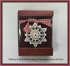 Villeroy & Boch  Winter Bakery Decoration Fiocco di Neve set 2 pz