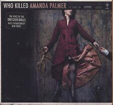 AMANDA PALMER - Who killed Amanda Palmer? - CD DIGIPACK 2008 SIGILLATO SEALED