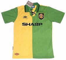 Retro Manchester United Shirt 1992-94 Newton Heath Football Jersey Man Utd MED